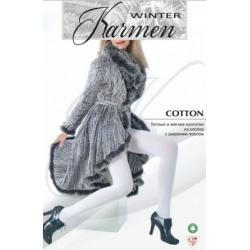 зимние колготки Cotton