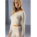 футболка нательная женская теплая MEY длинный рукав